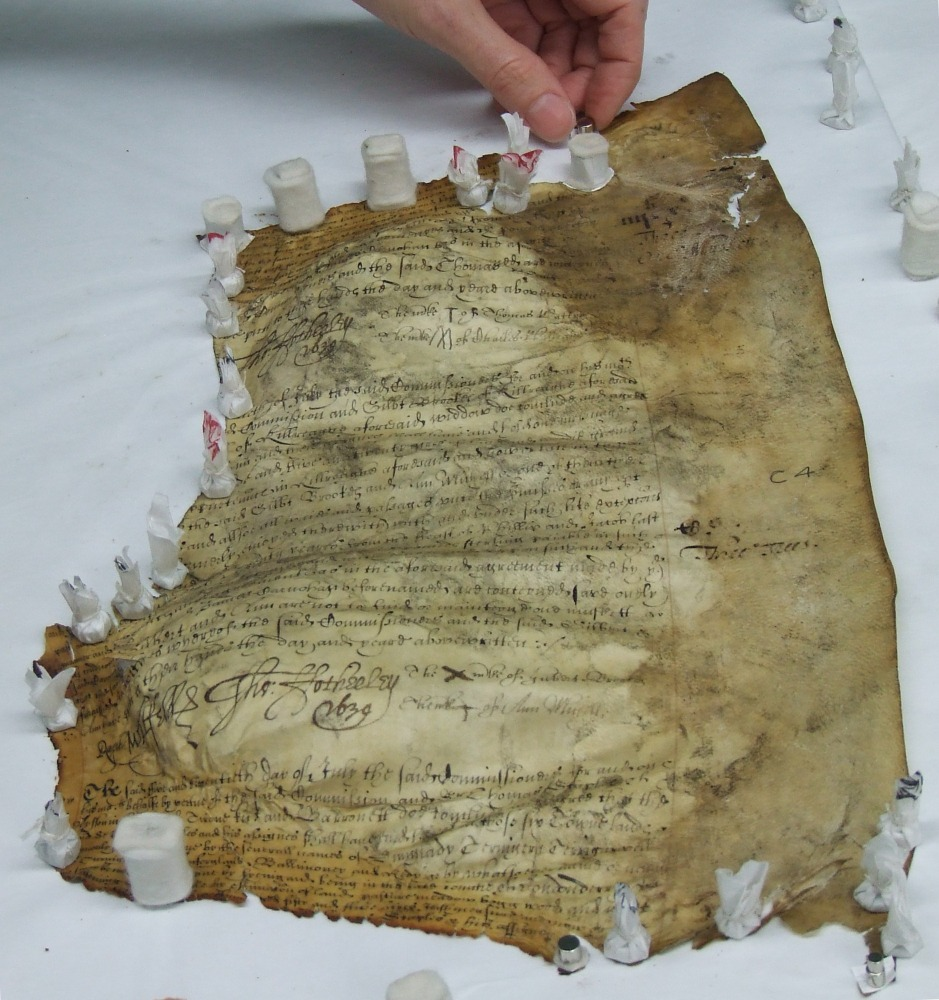 TREATMENT on the Great Parchment Book (2/3)